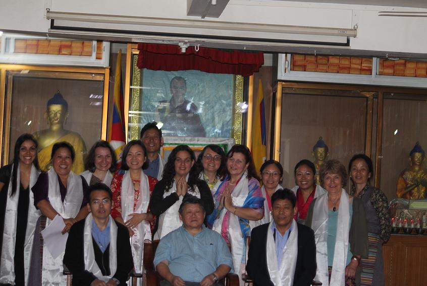 Men-Tsee-Khang, Institut de Médecine Tibétaine et Astrologie, Dharamsala, Inde